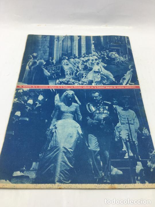 Coleccionismo de Revista Hola: ¡HOLA! - SUPLEMENTO DEL NUM. 608 - BODA Y LUNA DE MIEL DE RAINIERO III Y GRACE KELLY - Foto 6 - 245257010
