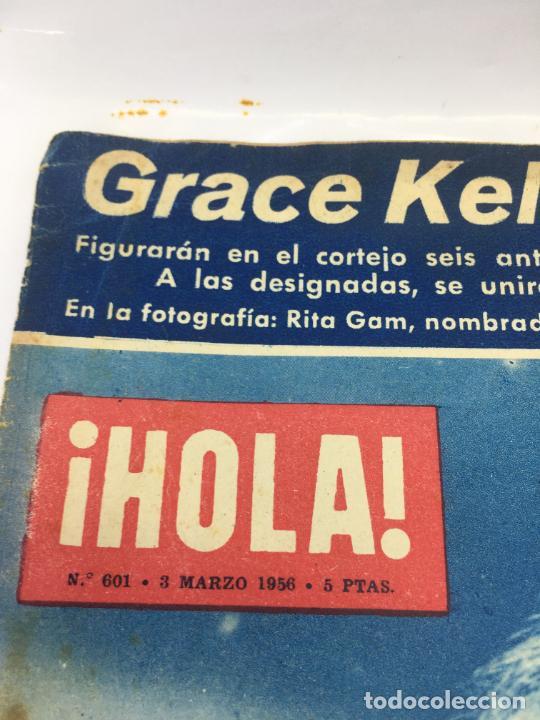 Coleccionismo de Revista Hola: ¡HOLA! - Nº 601 - 3 DE MARZO DE 1956 - GRACE KELLY ELIGE LAS DAMAS DE HONOR DE SU BODA - Foto 2 - 245260755