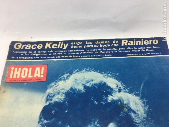 Coleccionismo de Revista Hola: ¡HOLA! - Nº 601 - 3 DE MARZO DE 1956 - GRACE KELLY ELIGE LAS DAMAS DE HONOR DE SU BODA - Foto 3 - 245260755