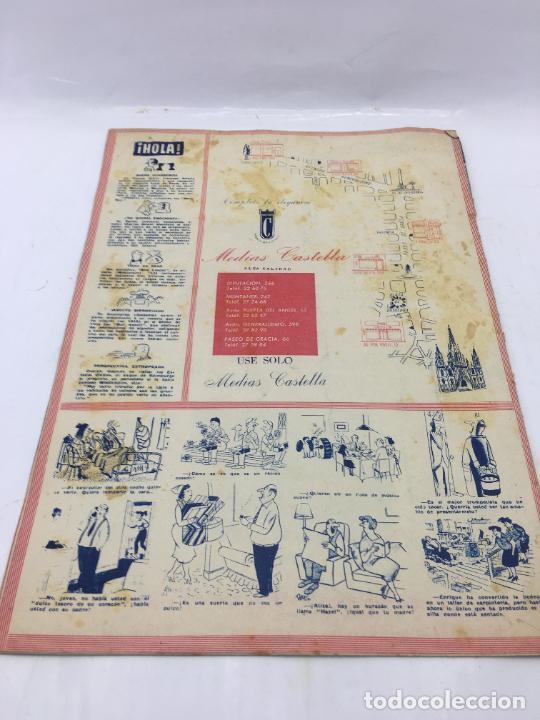 Coleccionismo de Revista Hola: ¡HOLA! - Nº 601 - 3 DE MARZO DE 1956 - GRACE KELLY ELIGE LAS DAMAS DE HONOR DE SU BODA - Foto 5 - 245260755