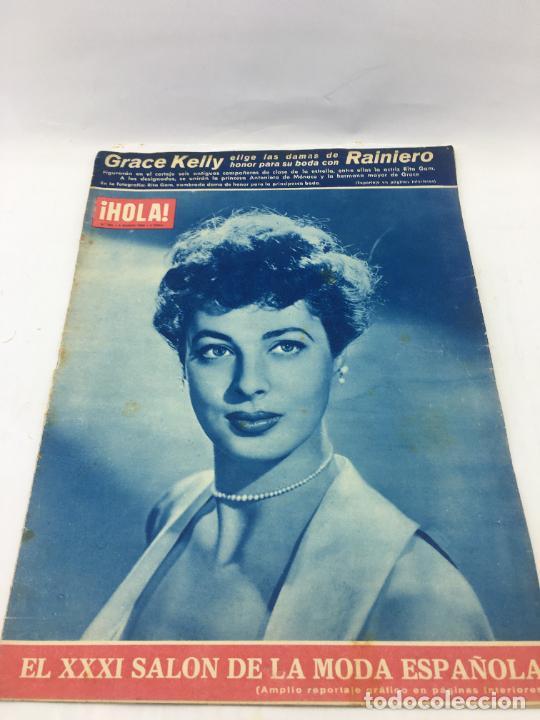 ¡HOLA! - Nº 601 - 3 DE MARZO DE 1956 - GRACE KELLY ELIGE LAS DAMAS DE HONOR DE SU BODA (Coleccionismo - Revistas y Periódicos Modernos (a partir de 1.940) - Revista Hola)