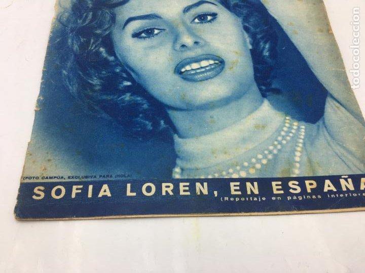 Coleccionismo de Revista Hola: ¡HOLA! - Nº 598 - 11 DE FEBRERO DE 1956 - PUBLICACION DEL PRIMER CAPITULO SERIAL GRACE KELLY PRINCES - Foto 4 - 245262885