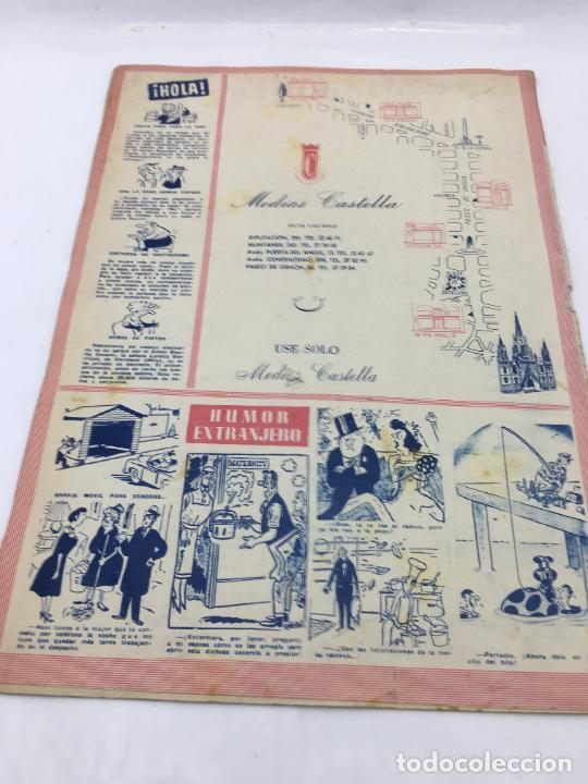 Coleccionismo de Revista Hola: ¡HOLA! - Nº 598 - 11 DE FEBRERO DE 1956 - PUBLICACION DEL PRIMER CAPITULO SERIAL GRACE KELLY PRINCES - Foto 5 - 245262885