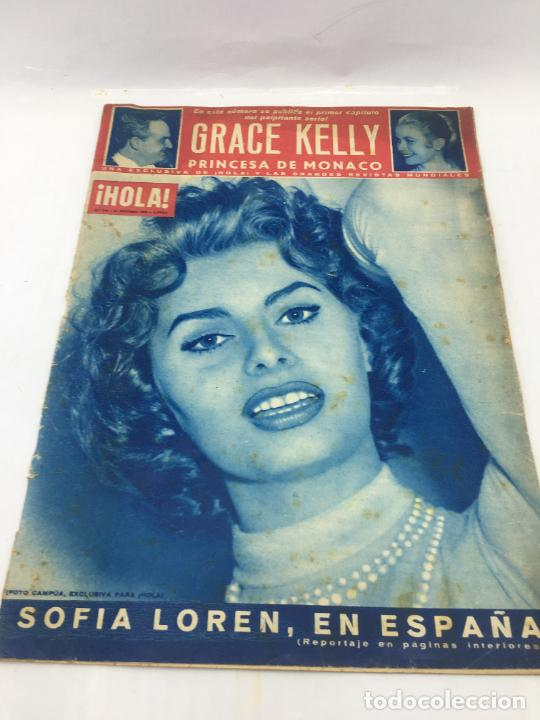 ¡HOLA! - Nº 598 - 11 DE FEBRERO DE 1956 - PUBLICACION DEL PRIMER CAPITULO SERIAL GRACE KELLY PRINCES (Coleccionismo - Revistas y Periódicos Modernos (a partir de 1.940) - Revista Hola)