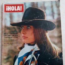 Coleccionismo de Revista Hola: HOLA 1.390 M.DEL.C.MARTINEZ BORDIU.CAROLINA DE.MONACO.CHANTAL DE FRANCIA .SALIMA.AÑO 1971. ETC.... Lote 245270005