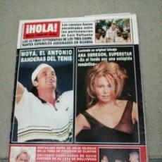 Coleccionismo de Revista Hola: AÑO 1997 2739 RAQUEL RODRIGUEZ ANTONIO BANDERAS KEVIN COSTNER CARLOS MOYA ANA OBREGON DUQUESA YORK. Lote 245355130