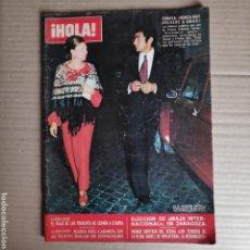 Coleccionismo de Revista Hola: NT HOLA N° 1447 STONE THE CROWS PRINCIPES ESPAÑOLA MARI CARMEN MONTSERRAT CABALLE ROLLING STONES. Lote 245373730