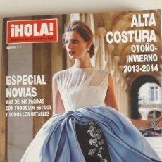 Coleccionismo de Revista Hola: HOLA ALTA COSTURA OTOÑO-INVIERNO 2013-2014. ESPECIAL NOVIAS. Lote 245414940