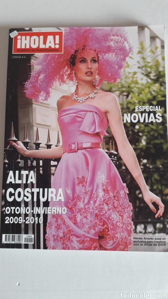 HOLA ALTA COSTURA OTOÑO-INVIERNO 2009-2010. ESPECIAL NOVIAS (Coleccionismo - Revistas y Periódicos Modernos (a partir de 1.940) - Revista Hola)