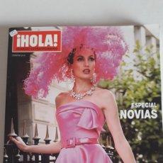 Coleccionismo de Revista Hola: HOLA ALTA COSTURA OTOÑO-INVIERNO 2009-2010. ESPECIAL NOVIAS. Lote 245415705