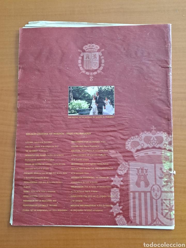 Coleccionismo de Revista Hola: Enlace Cristina e Iñaki, Barcelona, especial Hola - Foto 3 - 245526340