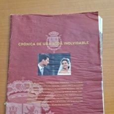 Coleccionismo de Revista Hola: ENLACE CRISTINA E IÑAKI, BARCELONA, ESPECIAL HOLA. Lote 245526340