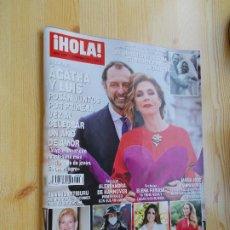 Coleccionismo de Revista Hola: REVISTA HOLA Nº 3.994 - AÑ0 2021 - ÁGATHA Y LUIS UN AÑO DE AMOR-. Lote 245714350