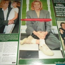 Coleccionismo de Revista Hola: RECORTE : CYBILL SHEPHERD. HOLA, MAYO 1996(#). Lote 246071475