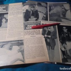 Coleccionismo de Revista Hola: RECORTE : MARTA SANCHEZ Y SU NUEVO AMOR, STARLING. HOLA, DCMBRE 1990(#). Lote 246114270