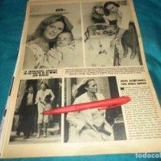 Collezionismo di Rivista Hola: RECORTE : URSULA ANDRESS, NUEVO ACOMPAÑANTE. HOLA, JUNIO 1978 (#). Lote 246467110