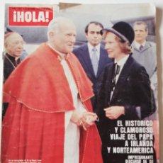 Collezionismo di Rivista Hola: REVISTA HOLA 1829 FARAH DIBA JOHN TRAVOLTA FRANK SINATRA MIGUEL BOSE ANA OBREGON CASA DE LA PRADERA. Lote 251047350