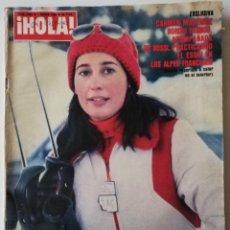 Collezionismo di Rivista Hola: REVISTA HOLA Nº 1853 JOHN TRAVOLTA BEATLES MELISSA SUE ANDERSON GILBERT O'SULLIVAN DAVID JANNSEN. Lote 251344455