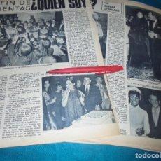 Coleccionismo de Revista Hola: RECORTE : BARBRA STREISAND. CAP. 3. HOLA, MARZO 1970 (#). Lote 252117890