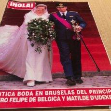 Coleccionismo de Revista Hola: REVISTA HOLA - N ° 2888 DICIEMBRE 1999 - ROMÁNT. Lote 252841290