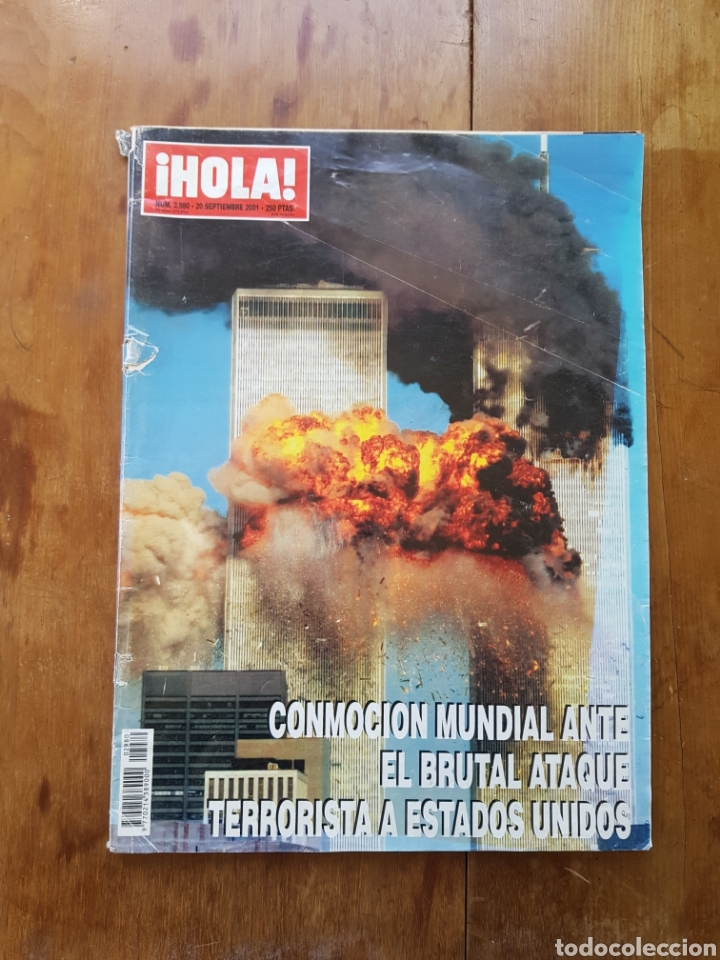 REVISTA HOLA 20 SEPTIEMBRE 2001 ATAQUE TERRORISTA E.E.U.U. (Coleccionismo - Revistas y Periódicos Modernos (a partir de 1.940) - Revista Hola)