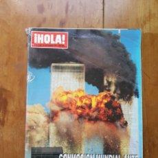 Coleccionismo de Revista Hola: REVISTA HOLA 20 SEPTIEMBRE 2001 ATAQUE TERRORISTA E.E.U.U.. Lote 253247265