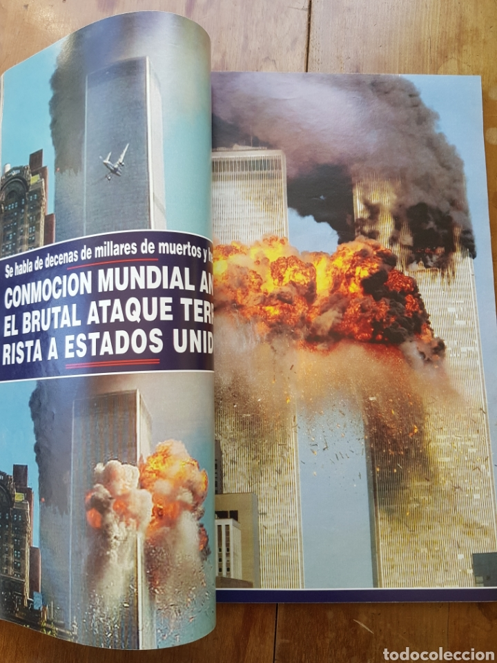 Coleccionismo de Revista Hola: REVISTA HOLA 20 SEPTIEMBRE 2001 ATAQUE TERRORISTA E.E.U.U. - Foto 4 - 253247265