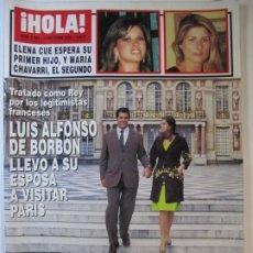 Collezionismo di Rivista Hola: REVISTA HOLA Nº3193 LUIS ALFONSO DE BORBON. Lote 253897875