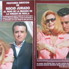 Collectionnisme de Magazine Hola: RECORTE REVISTA HOLA 3190 2005 ROCÍO JURADO Y ORTEGA CANO 5 PGS. Lote 254328110