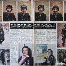 Coleccionismo de Revista Hola: RECORTE REVISTA HOLA 1691 1977 EDMUNDO ARROCET. JULIE CHRISTIE. Lote 254367810