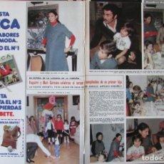 Coleccionismo de Revista Hola: RECORTE REVISTA HOLA 1691 1977 PAQUIRRI Y CARMEN ORDOÑEZ. Lote 254372230