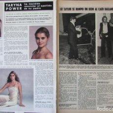Coleccionismo de Revista Hola: RECORTE REVISTA HOLA 1691 1977 TARYN POWER, MARIA CALLAS. Lote 254372380