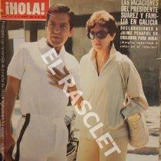 Coleccionismo de Revista Hola: ANTIGUA REVISTA HOLA - Nº 1877 - AGOSTO 1980. Lote 254426255