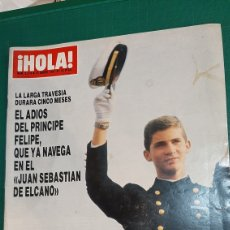 Coleccionismo de Revista Hola: HOLA 2214 1987 PRÍNCIPE FELIPE/ JULIO IGLESIAS/ LORENZO LAMAS/ BARONESA THYSSEN/JOSÉ PERALES. Lote 254429220