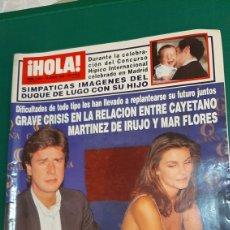 Coleccionismo de Revista Hola: HOLA 2861 1999 MARTÍNEZ IRUJO Y MAR FLORES FELIPE /PRINCESA ALEXIA/ LOLITA SUMARIO VER. Lote 254431135