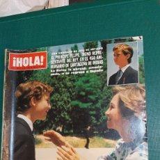 Coleccionismo de Revista Hola: HOLA 2025 1983 PRÍNCIPE FELIPE/BARBARA CARRERA/MASIEL/ROSARIO/DIEGO PRADO_/POKER /DIANA GALES /LOREN. Lote 254432925