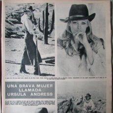 Collezionismo di Rivista Hola: RECORTE REVISTA HOLA N.º 1388 1971 URSULA ANDRESS. Lote 254764275
