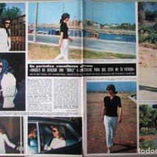 Coleccionismo de Revista Hola: RECORTE REVISTA HOLA N.º 1387 1971 JACQUELINE KENNEDY 3 PGS. Lote 254767965