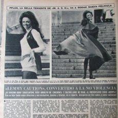 Coleccionismo de Revista Hola: RECORTE REVISTA HOLA N.º 1387 1971 JO ANN PFLUG. Lote 254768325