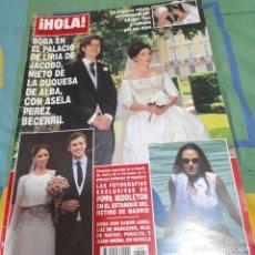 Coleccionismo de Revista Hola: REVISTA HOLA NUMERO 3486 BODA DE JACOBO, NIETO DE LA DUQUESA DE ALBA. Lote 254830205