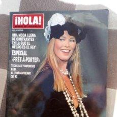 Coleccionismo de Revista Hola: HOLA ESPECIAL PRÊT-Á-PORTER. Lote 254995410