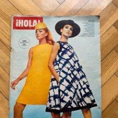 Coleccionismo de Revista Hola: ¡HOLA! Nº 1174- 25 FEBRERO 1967 - EXTRAORDINARIO MODA PRIMAVERA VERANO 1967, PATOU. Lote 255972655