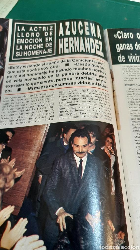 Coleccionismo de Revista Hola: HOLA 2274 AÑO 1988 CAMILO SESTO DEMANDO/ DUQUWSA YIRK/ JULIO IGLESIAS GRAMMY/ MIGUEL BOYER /SUMARIO - Foto 5 - 256015635