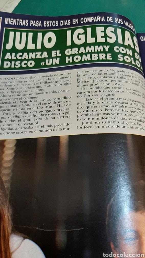 Coleccionismo de Revista Hola: HOLA 2274 AÑO 1988 CAMILO SESTO DEMANDO/ DUQUWSA YIRK/ JULIO IGLESIAS GRAMMY/ MIGUEL BOYER /SUMARIO - Foto 6 - 256015635
