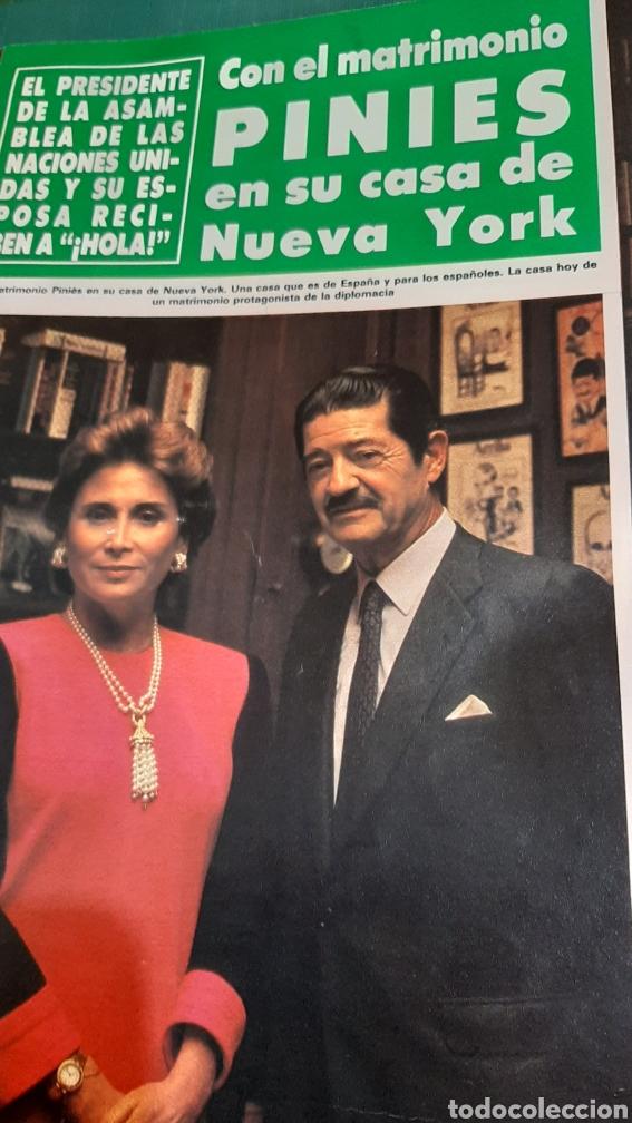 Coleccionismo de Revista Hola: HOLA 2151 AÑO 1985 PRÍNCIPES GALES AUSTRALIA ISABEL PANTOJA /JASMINA KHAN / HOLLYWOOD FAMILIA MÓNACO - Foto 2 - 256016975