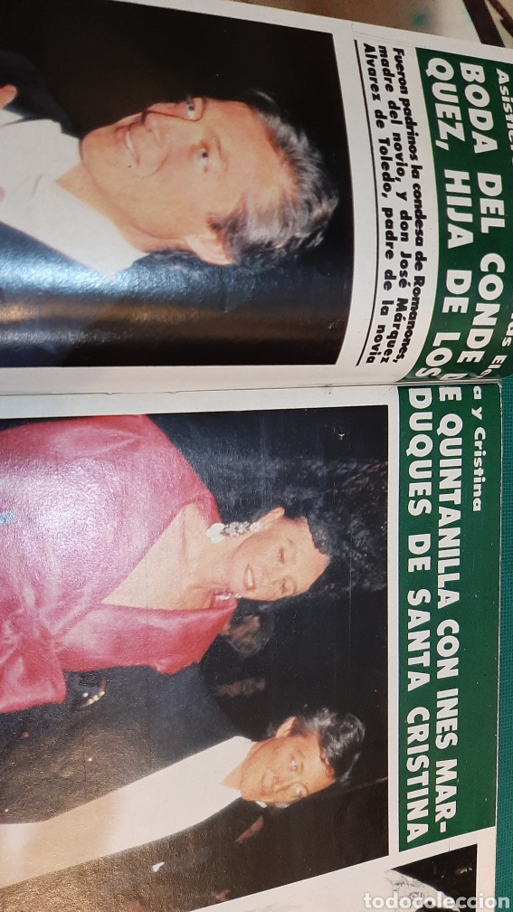 Coleccionismo de Revista Hola: HOLA 2151 AÑO 1985 PRÍNCIPES GALES AUSTRALIA ISABEL PANTOJA /JASMINA KHAN / HOLLYWOOD FAMILIA MÓNACO - Foto 6 - 256016975