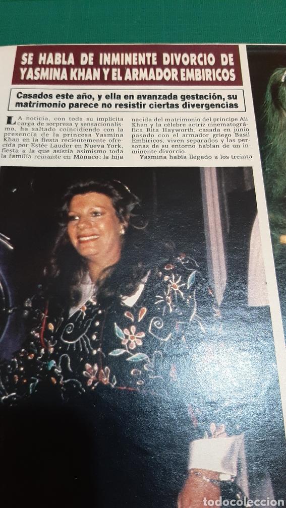 Coleccionismo de Revista Hola: HOLA 2151 AÑO 1985 PRÍNCIPES GALES AUSTRALIA ISABEL PANTOJA /JASMINA KHAN / HOLLYWOOD FAMILIA MÓNACO - Foto 7 - 256016975