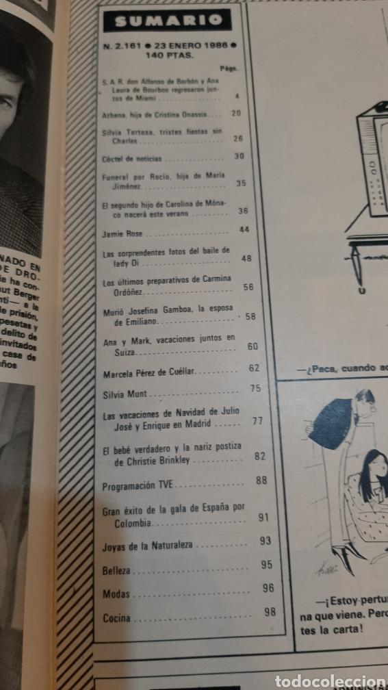 Coleccionismo de Revista Hola: HOLA 1986 ASÍ BAILA LADY DI /CAROLINA MÓNACO/JULIO IGLESIAS /REY HOMBRE AÑO CAMBIO 16/SILVIA TORTOSA - Foto 5 - 256017995