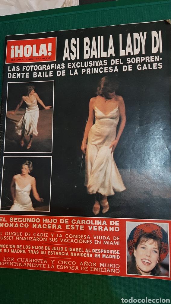 HOLA 1986 ASÍ BAILA LADY DI /CAROLINA MÓNACO/JULIO IGLESIAS /REY HOMBRE AÑO CAMBIO 16/SILVIA TORTOSA (Coleccionismo - Revistas y Periódicos Modernos (a partir de 1.940) - Revista Hola)