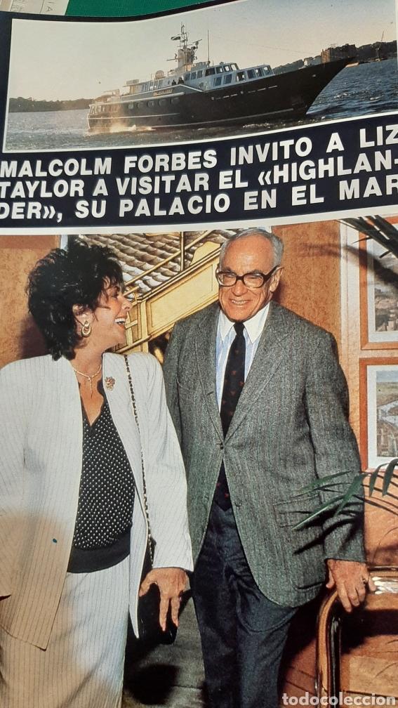 Coleccionismo de Revista Hola: HOLA 2256 1987 PRÍNCIPES GALES /DUQUE CÁDIZ / CAMILO SESTO /MICK JAGGER/LIZ TAYLER/FELIPE PRINCIPE/ - Foto 2 - 256019480
